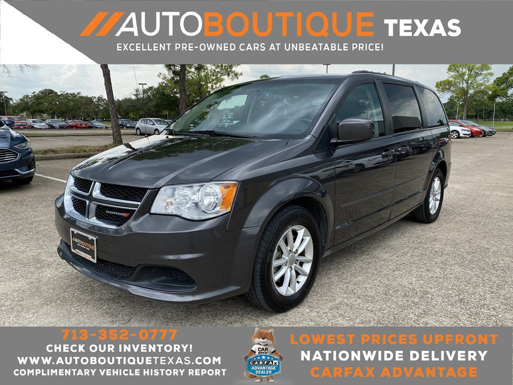 2016 DODGE GRAND CARAVAN SXT Houston TX