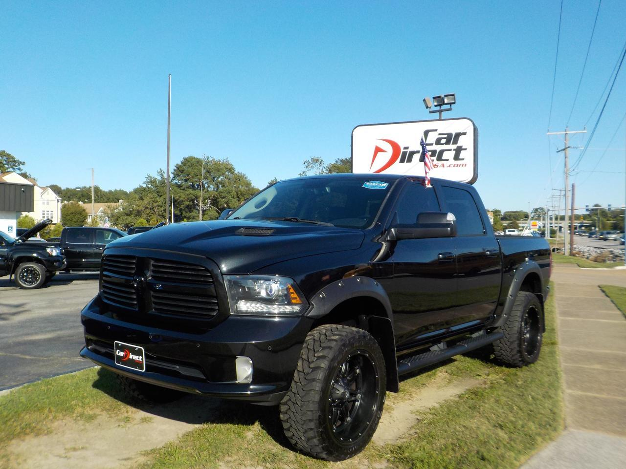 2016 Dodge Ram 1500 4x4 Crew Cab Sport Heated Seats Leather Tow Pkg Backup Cam Remote Start Only 46k Miles Virginia Beach Va 38618961