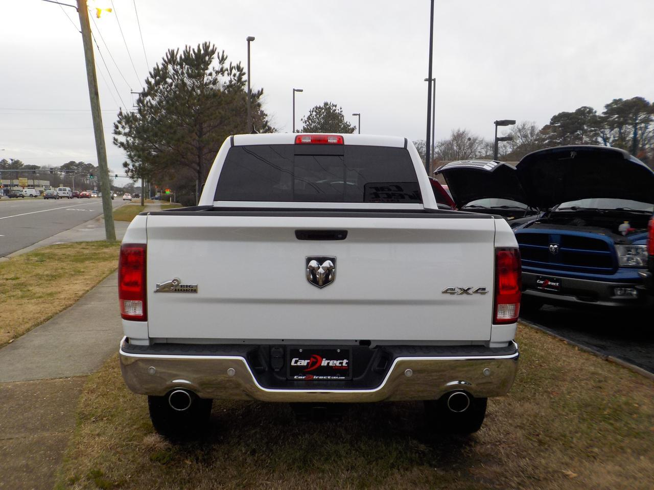 2016 DODGE RAM 1500 BIG HORN CREW CAB 5.7L V8 HEMI 4X4, REMOTE START, TOW PACKAGE, BACKUP CAMERA, PARKING SENSORS! Virginia Beach VA