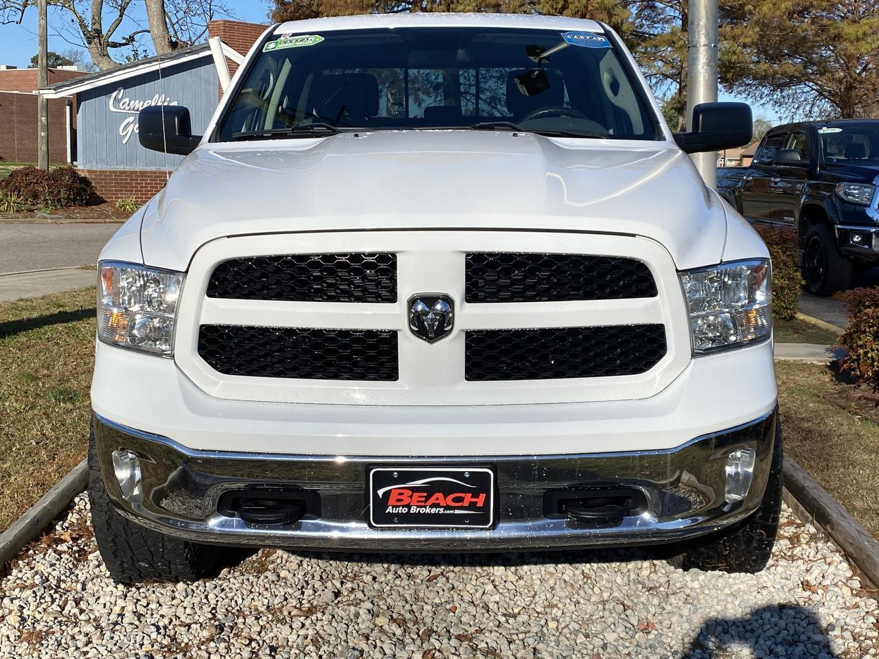 2016 DODGE RAM 1500 OUTDOORSMAN CREW CAB 4X4, WARRANTY, LONG BED, BLUETOOTH, AUX/USB PORT, TOW PKG, Norfolk VA