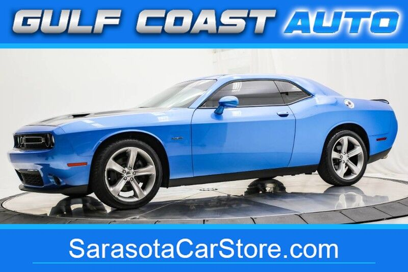 2016_Dodge_CHALLENGER_R/T LIKE NEW 1FL OWNER WARRANTY HEMI BLUE RUNS GREAT !!_ Sarasota FL