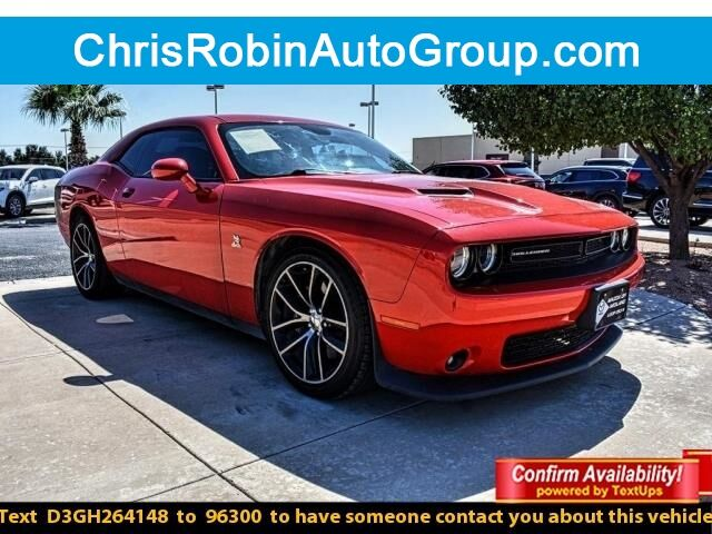 2016 Dodge Challenger 2DR CPE R/T SCAT PACK Odessa TX