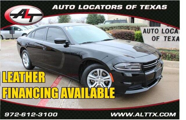 2016 Dodge Charger SE with LEATHER Plano TX