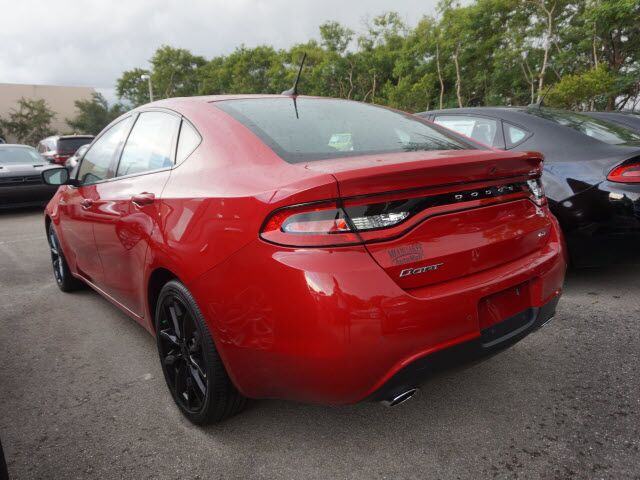 2016 dodge dart gt sport blacktop miami lakes fl 15344883. Black Bedroom Furniture Sets. Home Design Ideas