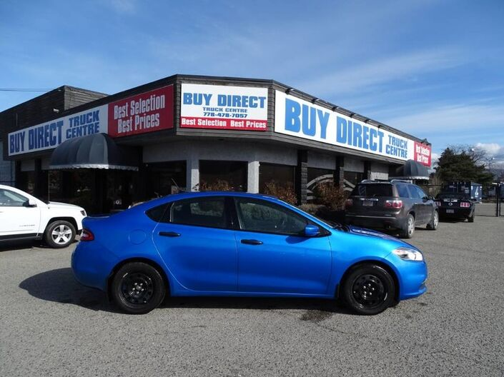 2016 Dodge Dart SE, Low KM's, Manual Transmission, Laser Blue Pearl Kelowna BC