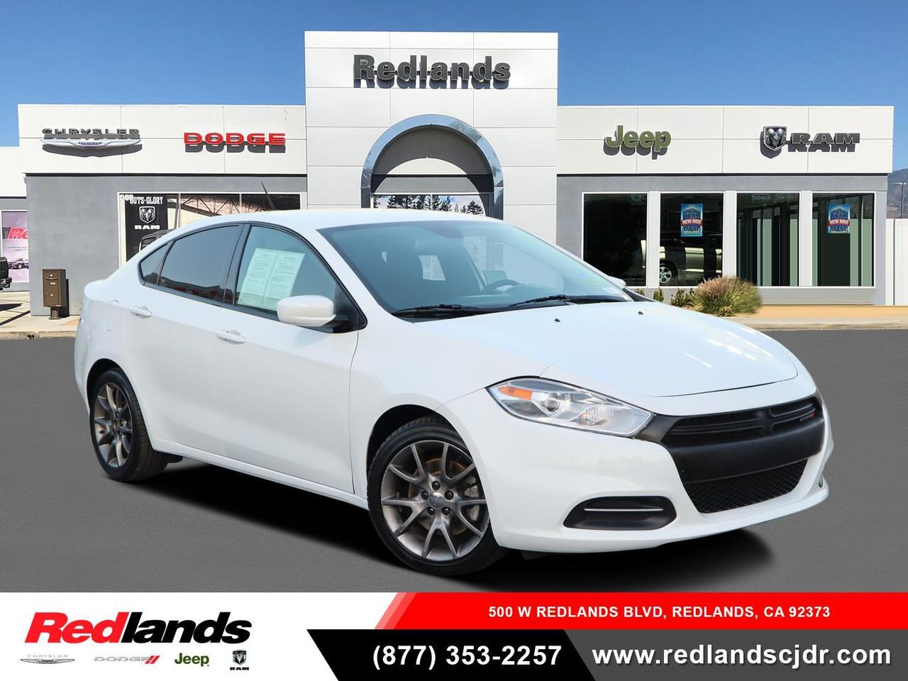 Used 2016 Dodge Dart Sxt Sport Redlands Ca