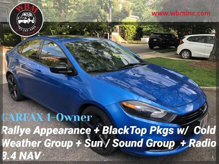 2016_Dodge_Dart_SXT w/ Rallye Appearance Group_ Arlington VA