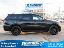 2016_Dodge_Durango_AWD Limited, Rear BluRay, BlackTop, Navigation, Remote Start, Bluetooth, Heated Steering Wheel_ Calgary AB