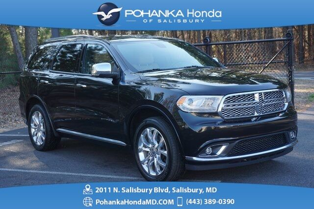 2016 Dodge Durango Citadel Awd Navi Sunroof One Owner
