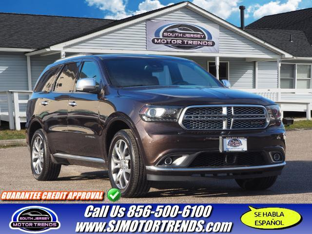 2016 Dodge Durango Citadel Anodized Platinum Vineland NJ