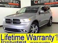Dodge Durango LIMITED NAVIGATION LEATHER HEATED SEATS REAR CAMERA REAR PARKING AID 2016