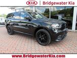 2016 Dodge Durango Limited AWD, BlackTop Package, Navigation, Rear-View Camera, Bluetooth Streaming Audio, Premium Sound System, Heated Leather Seats, Power Sunroof, Power Liftgate, 20-Inch Alloy Wheels,