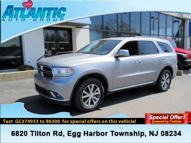 2016 Dodge Durango Limited Egg Harbor Township NJ