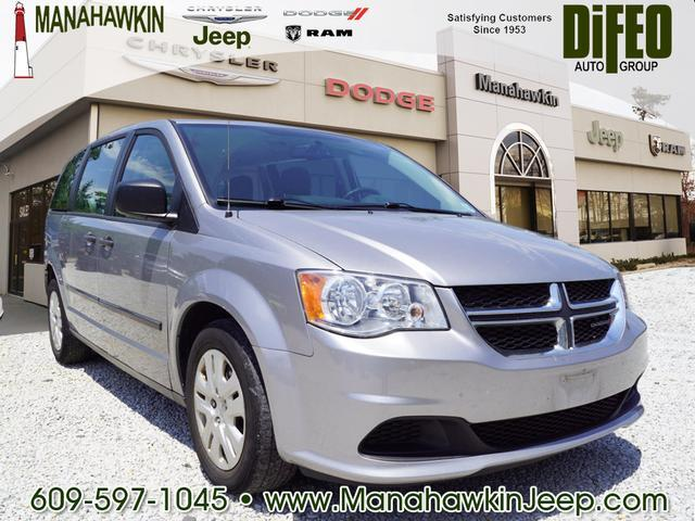 2016 Dodge Grand Caravan 4dr Wgn American Value Pkg