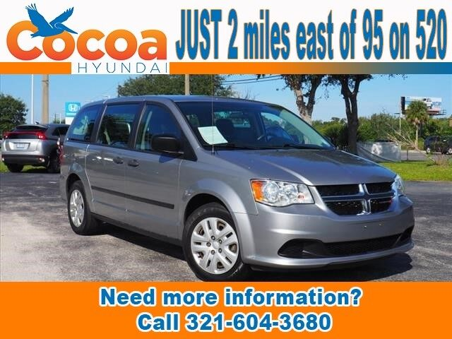 2016 Dodge Grand Caravan AVP Melbourne FL