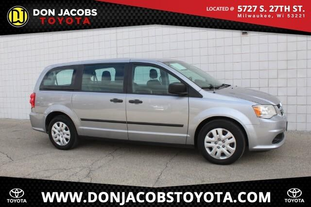 2016 Dodge Grand Caravan AVP Milwaukee WI