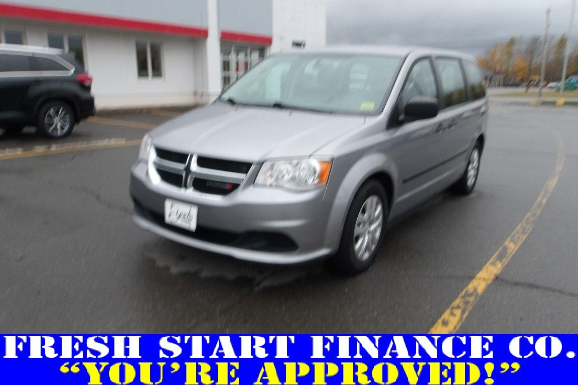 2016 Dodge Grand Caravan American Value Pkg Houlton ME