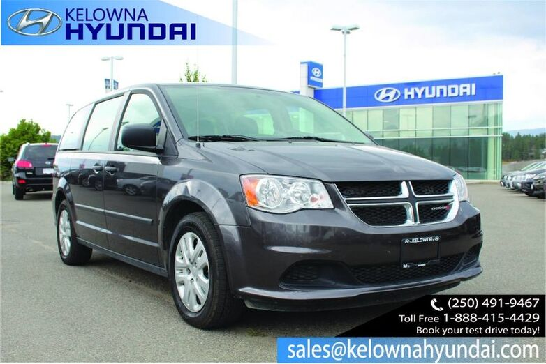 2016 Dodge Grand Caravan Canada Value Package Kelowna BC