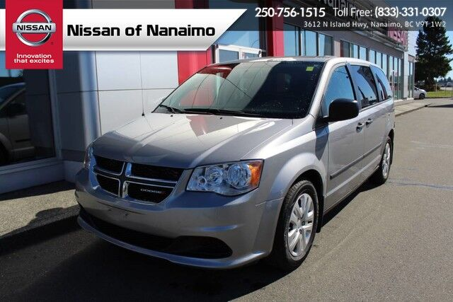 2016 Dodge Grand Caravan Canada Value Package Nanaimo BC