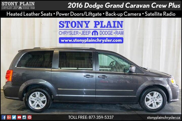 2016 Dodge Grand Caravan Crew Plus Stony Plain AB