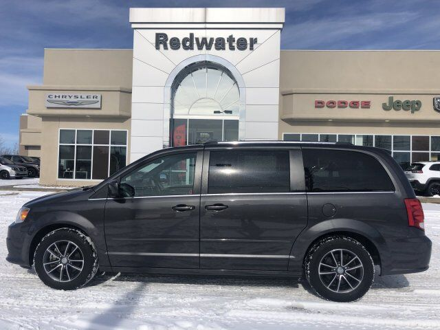 2016 Dodge Grand Caravan Premium Plus - Stow 'n Go - Leather - DVD Redwater AB