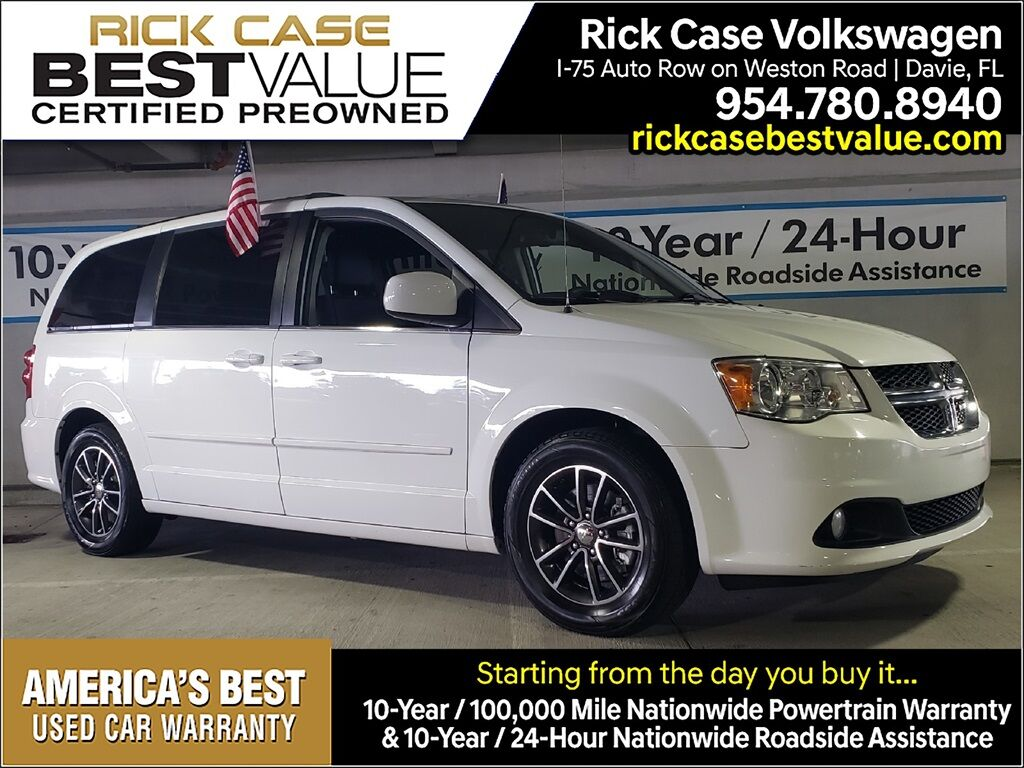 2016 Dodge Grand Caravan SXT Davie FL