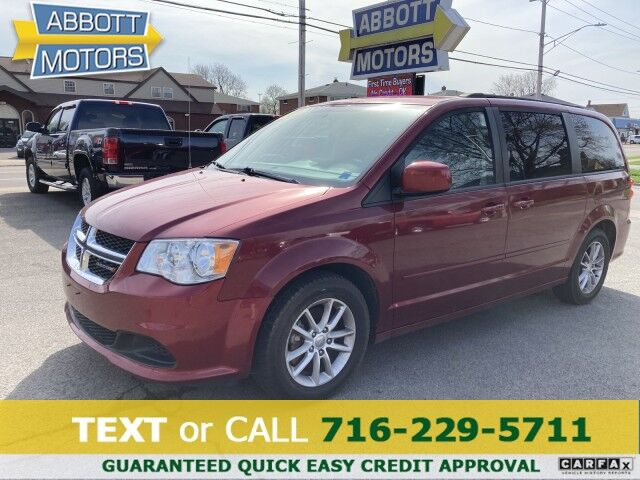 2016 Dodge Grand Caravan SXT Low Miles Buffalo NY