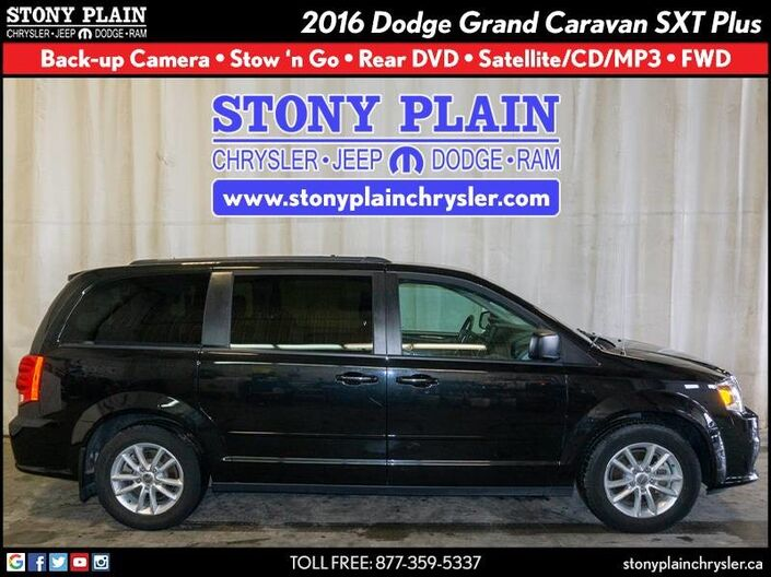 2016 Dodge Grand Caravan SXT Plus Stony Plain AB