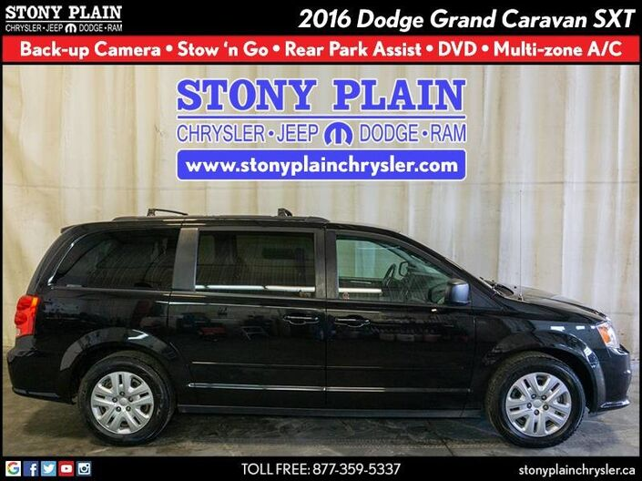 2016 Dodge Grand Caravan SXT Stony Plain AB