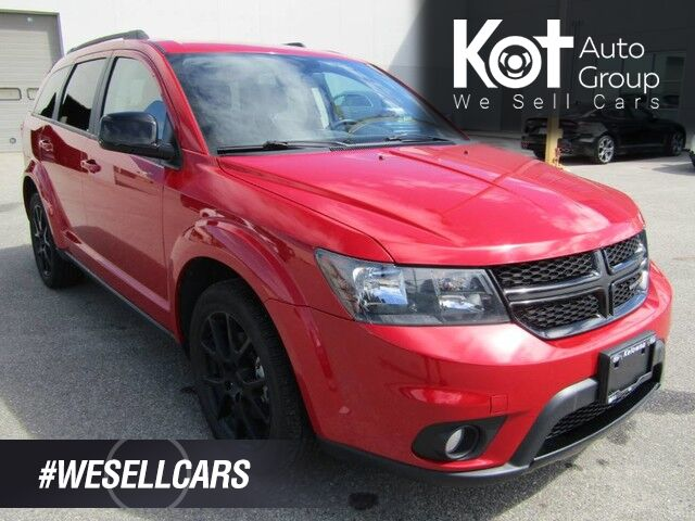 2016 Dodge JOURNEY SXT! 7 PASSENGER! SPORT RIMS! NO ACCIDENTS! FULLY INSPECTED! SUPER CLEAN! Kelowna BC