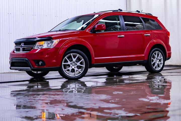 2016 Dodge Journey AWD R/T 3rd Row Leather BCam Red Deer AB