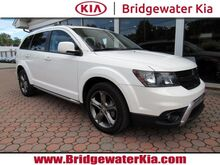 2016_Dodge_Journey_Crossroad Plus, Navigation System, Rear-View Camera, Bluetooth Streaming Audio, Sport Leather Seats, Power Sunroof, 19-Inch Black Alloy Wheels,_ Bridgewater NJ