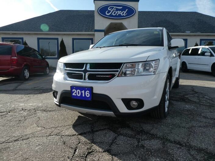 2016 Dodge Journey R/T - REMOTE START - HEATED SEATS - HEATED WHEEL - LEATHER Essex ON