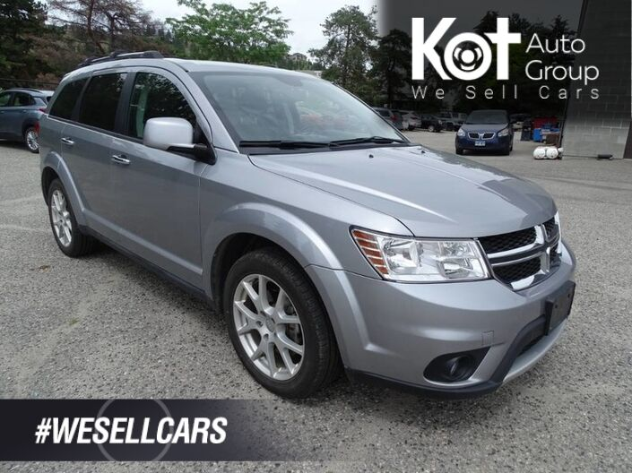 2016 Dodge Journey R/T, Low KM's! NO ACCIDENTS! 3 Row Seating, Touchscreen, Bluetooth Kelowna BC
