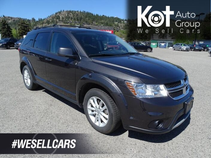 2016 Dodge Journey SXT, 7 PASSENGER! LOW KMS! NO ACCIDENTS! Kelowna BC