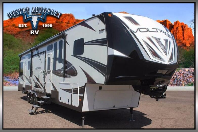 2016 Dutchmen Voltage 4150 Double Slide Fifth Wheel Toy Hauler Mesa AZ