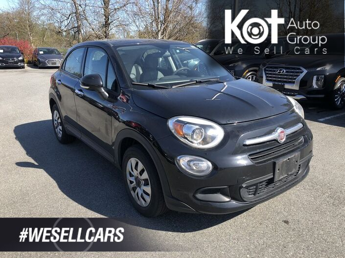 2016 FIAT 500X POP! LEATHER! MANUAL! 1 OWNER! LOW KMS! FUN TO DRIVE! Penticton BC