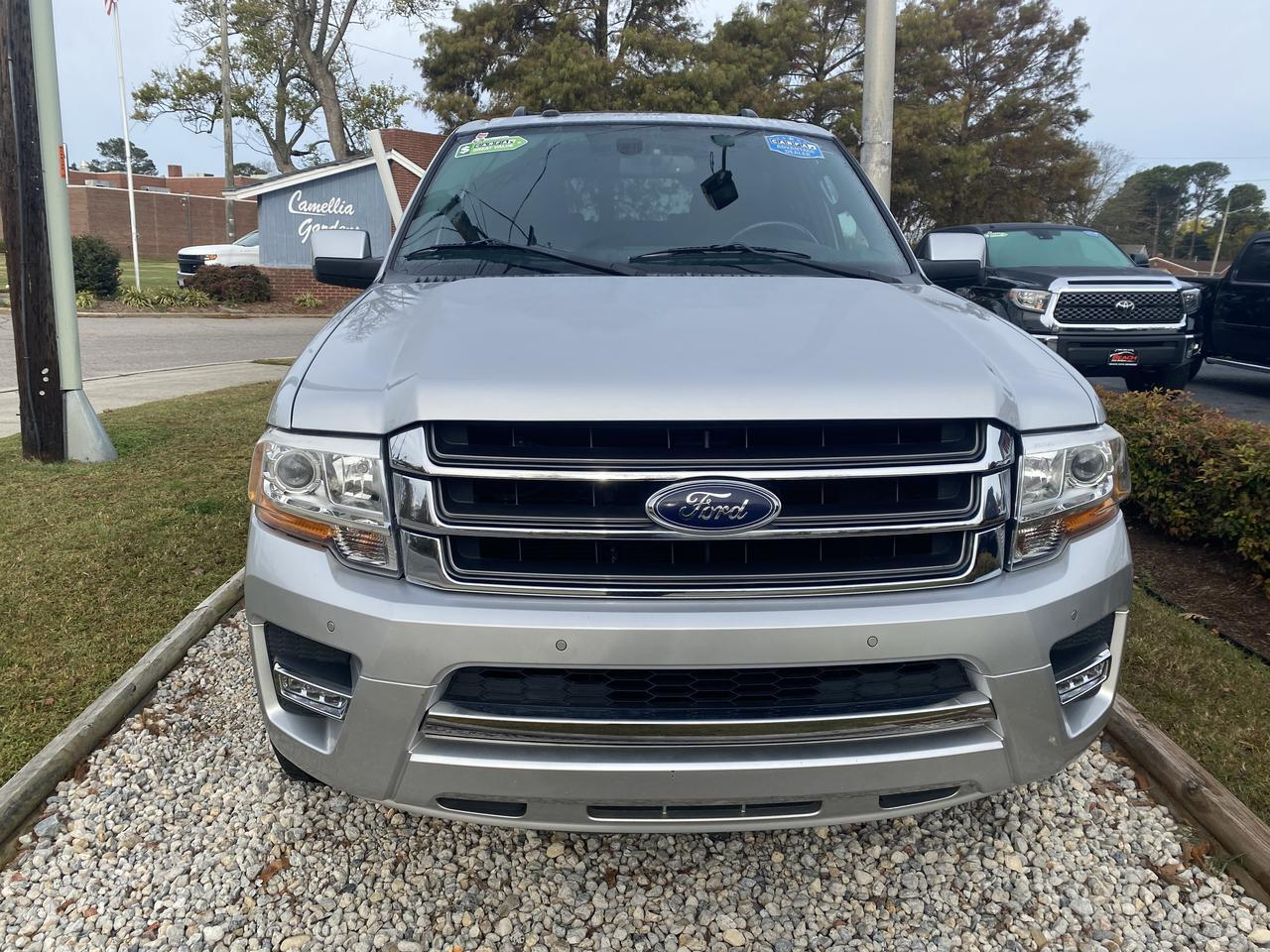 2016 FORD EXPEDITION EL LIMITED, WARRANTY, LEATHER, NAV, HEATED/COOLED SEATS, 3RD ROW, BLUETOOTH, BACKUP CAM, CLEAN! Norfolk VA