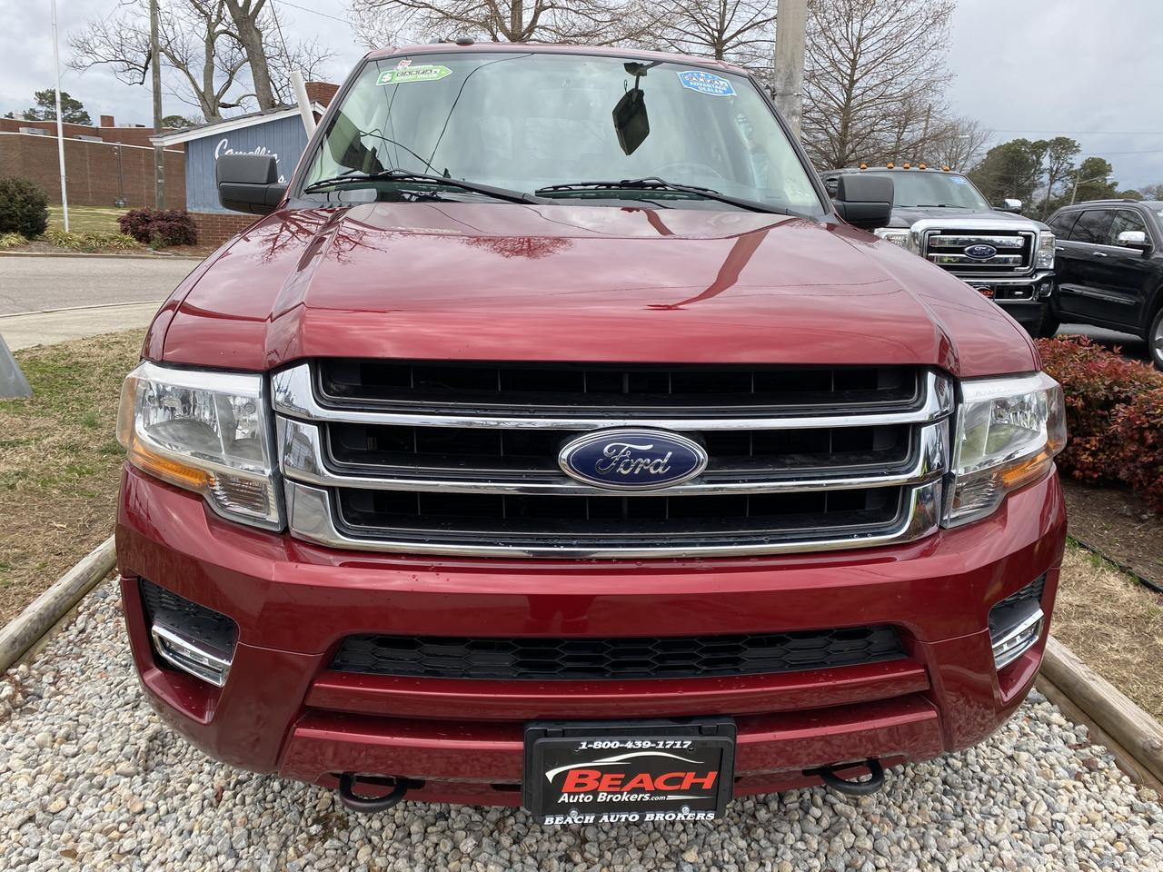 2016 FORD EXPEDITION EL XLT 4X4 , WARRANTY, LEATHER, NAV, HEATED/COOLED SEATS, 3RD ROW, BACKUP CAM, 1 OWNER,CLEAN CARFAX! Norfolk VA