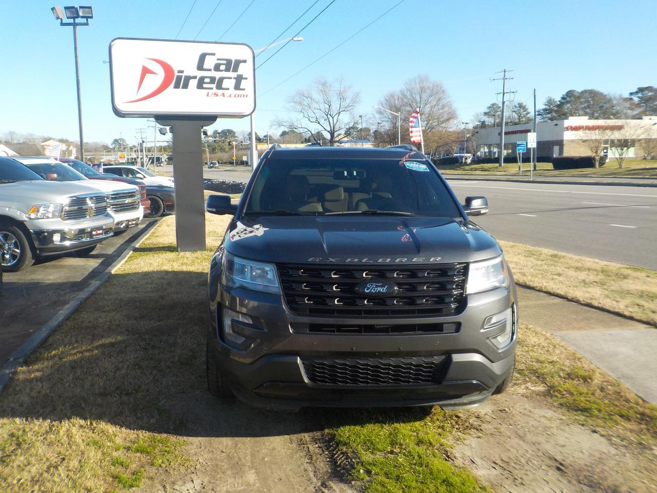 2016 FORD EXPLORER XLT 4X4, LIQUID METAL RIMS, HEATED SEATS, LEATHER, TOW PACKAGE, REMOTE START, SUNROOF, BACKUP CAM! Virginia Beach VA