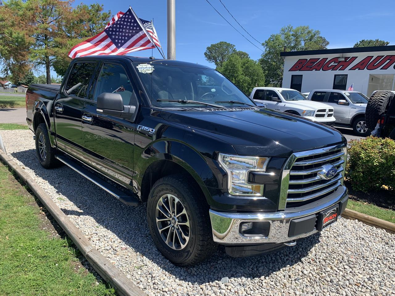 2016 FORD F-150 XLT SUPERCREW 4X4, WARRANTY, BLUETOOTH, BACKUP CAM, SYNC, PARKING SENSORS! Norfolk VA