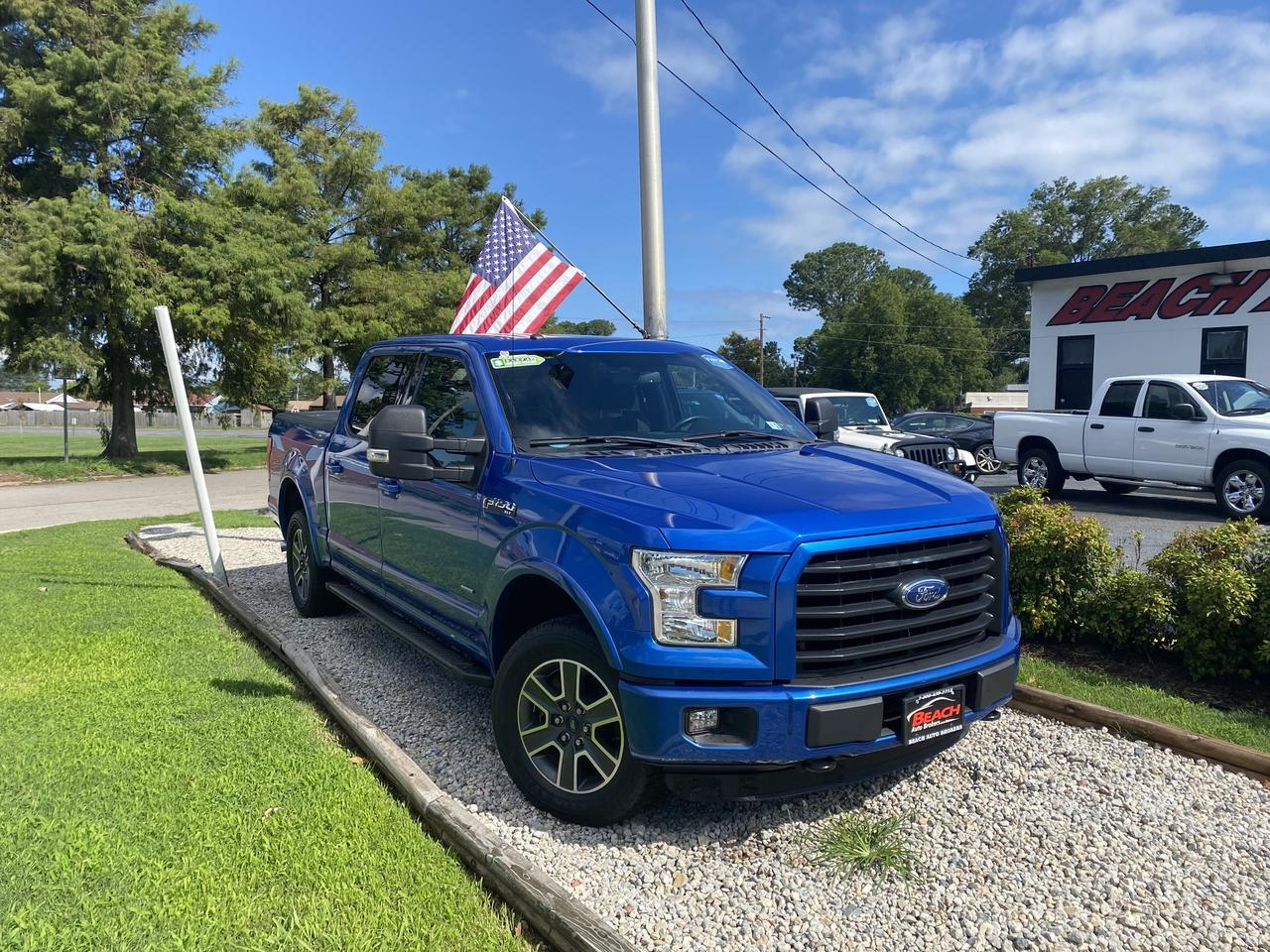 2016 FORD F-150 XLT SUPERCREW 4X4, WARRANTY, NAV, SUNROOF, BACKUP CAM, TOW PKG, 1 OWNER, CLEAN CARFAX, LOW MILES! Norfolk VA