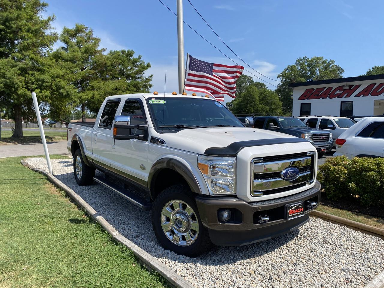 2016 FORD F-250 LARIAT CREW CAB 4X4, WARRANY, LIFTED, LEATHER, KING RANCH, TOW PKG, NAV, BLUETOOTH, CLEAN CARFAX! Norfolk VA