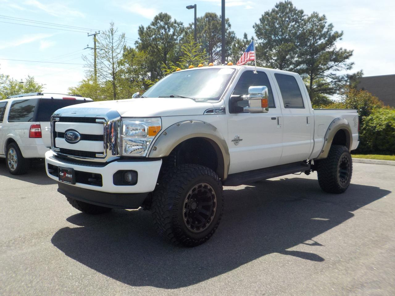 2016 FORD F-250 LARIAT SUPER DUTY CREW CAB 4X4, 6.7L DIESEL, LONGBED, LEATHER, NAVIGATION, TOW PKG, ONLY 78K MILES! Virginia Beach VA