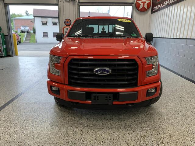 2016 FORD F150 CREW CAB 4X4 XLT Bridgeport WV