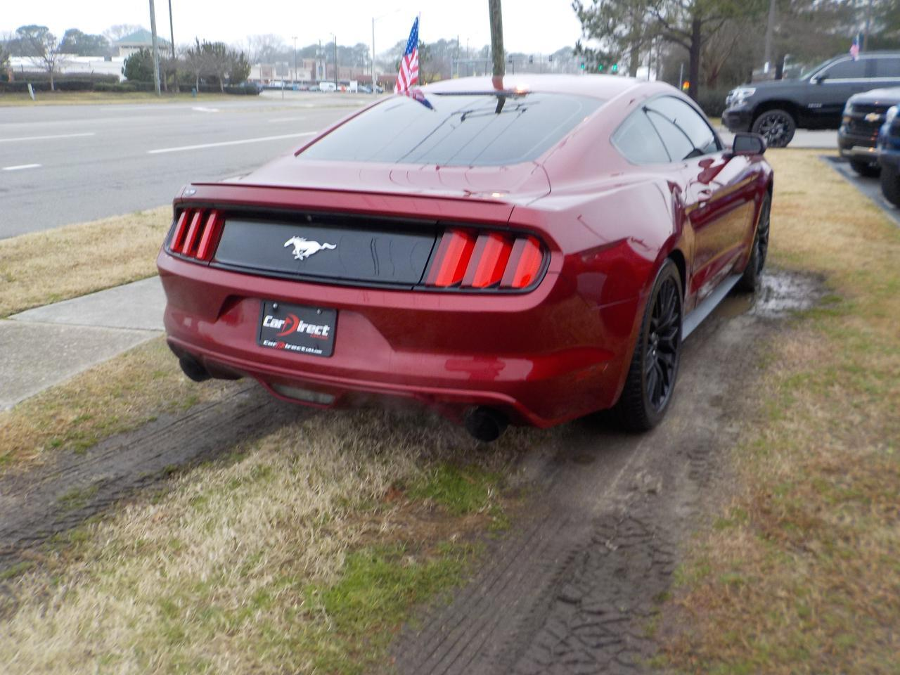 2016 FORD MUSTANG FASTBACK ECOBOOST RWD, BLUETOOTH WIRELESS, BACKUP CAMERA, REMOTE START, VERY CLEAN, ONLY 71K MILES! Virginia Beach VA