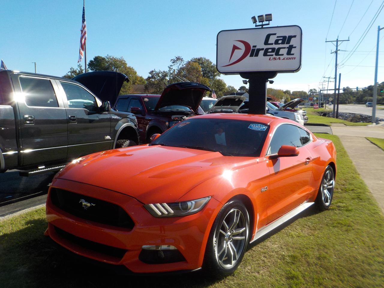 2016 Ford Mustang Gt Leather Heated Amp Cooled Seats Push