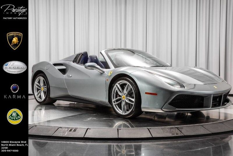 2016_Ferrari_488 Spider__ North Miami FL