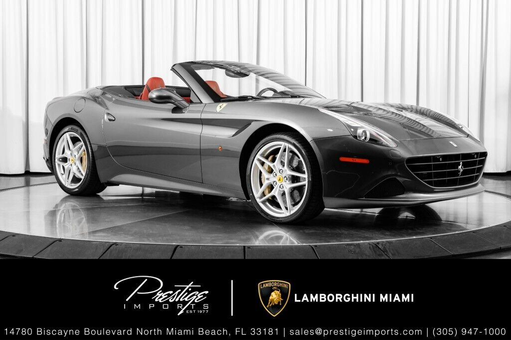 2016_Ferrari_California__ North Miami Beach FL