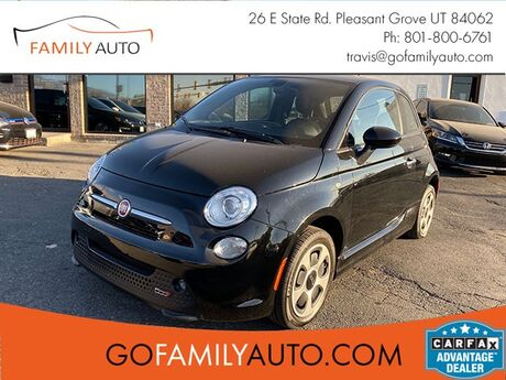 2016 Fiat 500e Battery Electric Hatchback Pleasant Grove UT